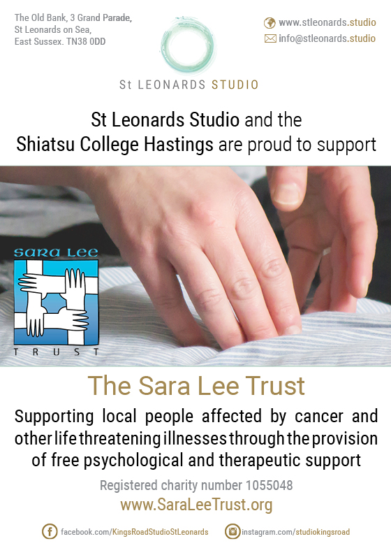 St Leonards Studio supports the Sara Lee Trust